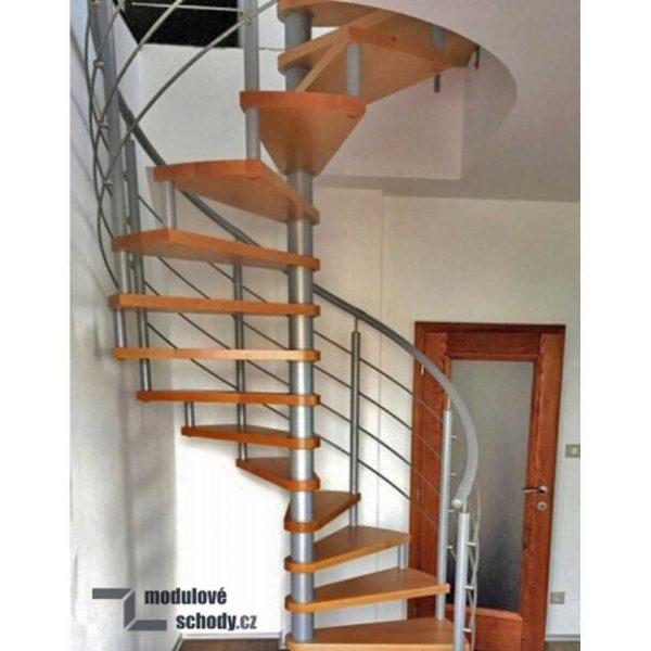 Modulové schody Adaco Beskydy - vretenové