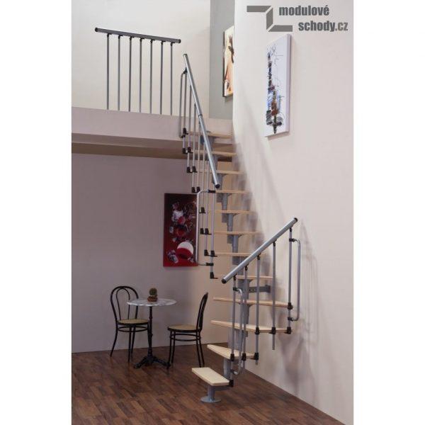 Lomené modulové schodiště Minka Joker
