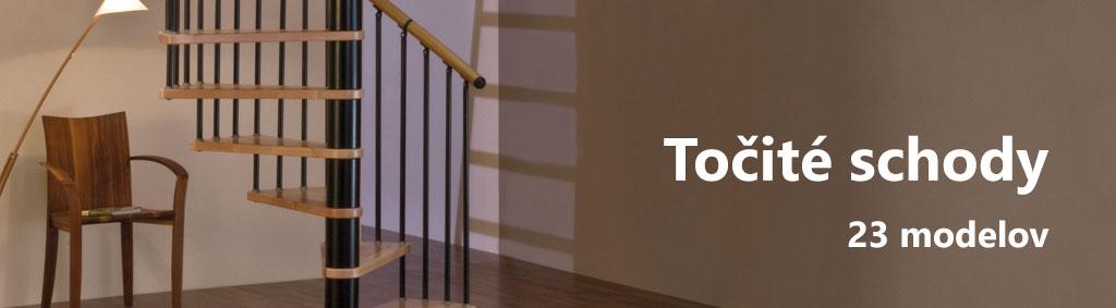 Točité schody na modulove-schody.sk