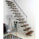 Modulove schody Minka Comfort_tmave_hneda_1