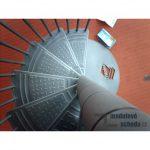 Modulove tocite schody Minka Rondo Zink Plus_samonosne venkovni schodiste_7